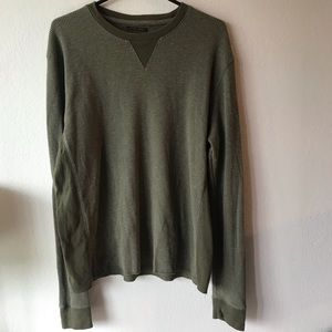 "Lucky Brand Green ""Strong Boy Thermal"" sz large"